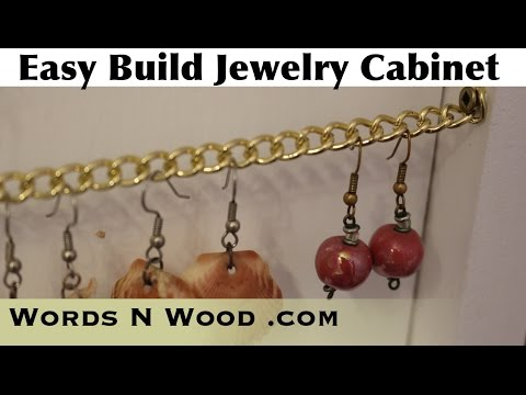 Easy-Build Jewelry Cabinet (WnW #86)