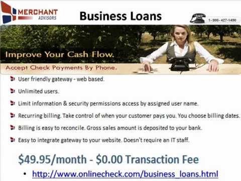 Get A Loan For My Business