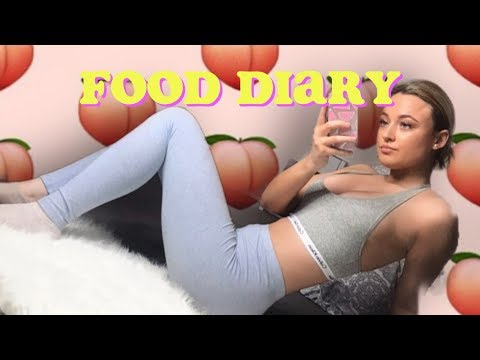 WHAT I EAT AS A TEENAGER (UNHEALTHY)🍑