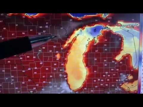 Michigan weather forecast: 5/25/18