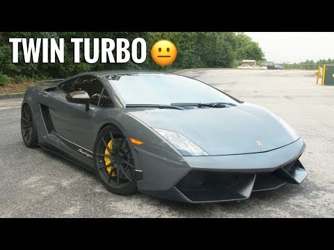 Driving My First Twin Turbo Lambo - Twin Turbo Lamborghini Gallardo Superleggera Review