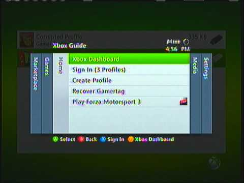 How to recover your Xbox Live Profile in under 3 Minutes!!!!!!