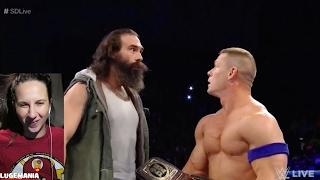WWE Smackdown 1/31/17 Wyatt and Orton interrupt John Cena