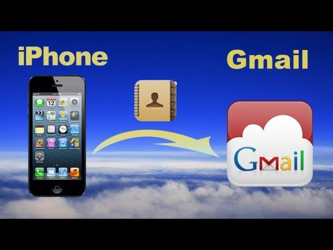iPhone to Gmail: Sync gmail contacts with iPhone or export/backup iPhone Contacts to Gmail account
