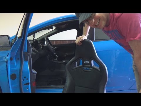 I lowered the Recaro shell seat in my Focus RS and it's transformed the car - Vlog 62