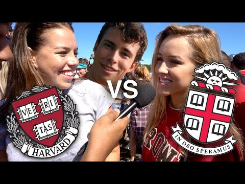 HARVARD COLLEGE BROWN UNIVERSITY TAILGATE: Does Size Matter? (Vlog)