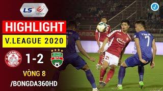 Highlight | TP Hồ Chí Minh 1-2 Bình Dương | Công Phượng phút cuối đẳng cấp | Vòng 8 V.League 2020