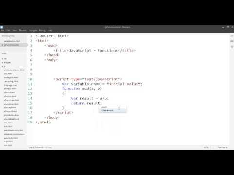 (6) JavaScript: Functions