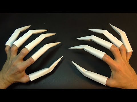 How to make Origami Claws