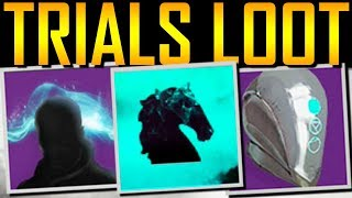 Destiny 2 - FLAWLESS  LOOT! TRIALS ENGRAMS!