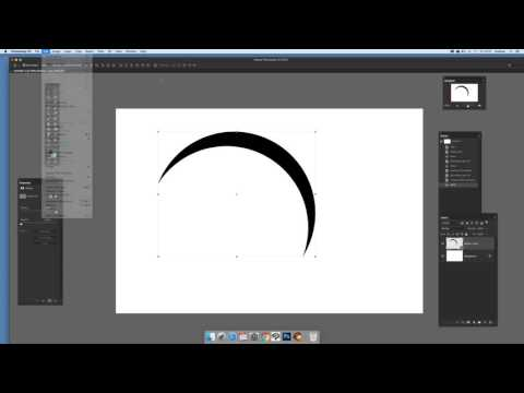 How to create a crescent shape in Photoshop (Intermediate) tutorial