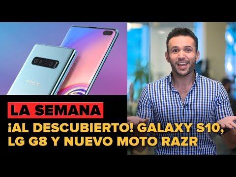 Galaxy S10, LG G8 y un nuevo Moto Razr