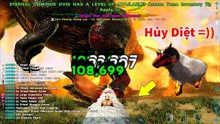 """ARK: Ragnarok Mod #18 - Sức Mạnh Hủy Diệt Của Cừu Địa Ngục """"Eternal Dominus Ovis"""""""