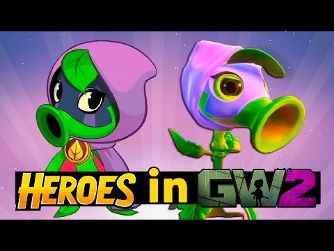 Plants vs Zombies Heroes in PvZ Garden Warfare 2
