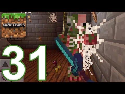 Minecraft: PE - Gameplay Walkthrough Part 31 - Castle Adventure (iOS, Android)