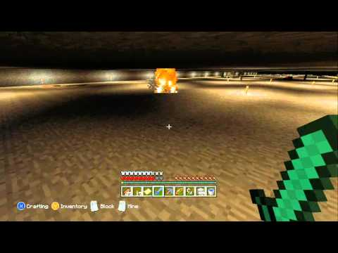 Minecraft Xbox 360 - Didn't Think Bane of Arthropods V was Possible.