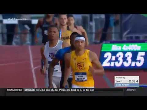 USC Men's Track & Field - 2018 NCAA Semifinals
