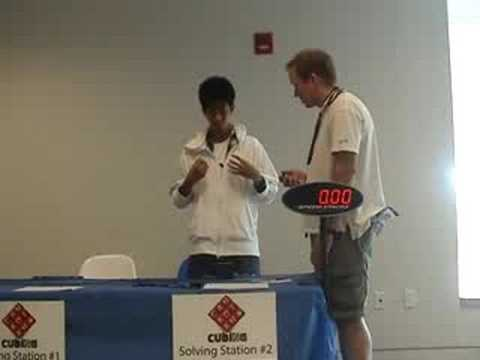 Rubik's cube - 11.50 seconds average North American Record (NAR)- Harris Chan