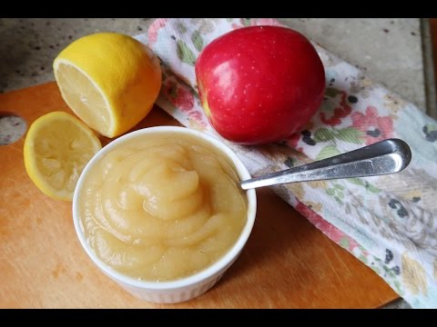 How To: Homemade Organic Applesauce | Baby Food - GetFitWithLeyla