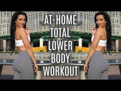 At-Home TOTAL Lower Body Workout!