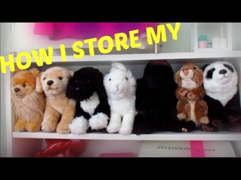 How I store all of my Webkinz