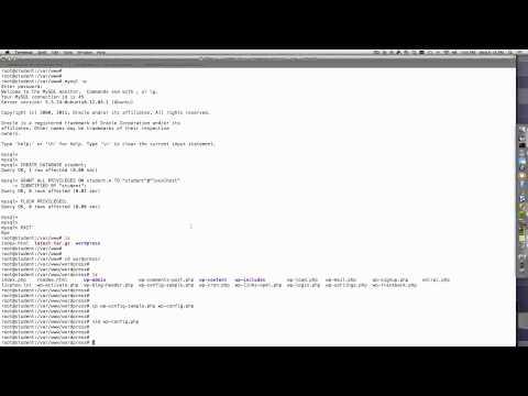 Wordpress 5 minute install | Step by Step | Linux VM