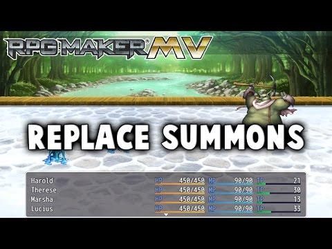 Replace Summons Plugin - RPG Maker MV