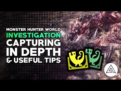 Monster Hunter World | Capturing in Depth & Useful Tips