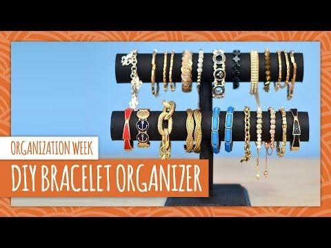 DIY Bracelet Organizer - HGTV Handmade