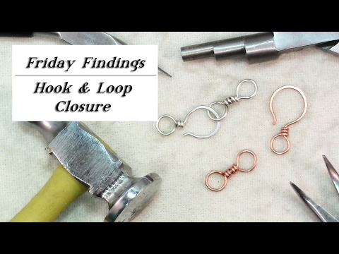 How to Make a Hook & Loop Clasp With Wire-Friday Findings Jewelry Tutorial