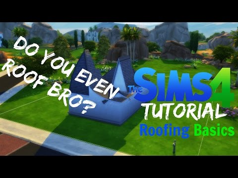 Sims 4 Tutorial #2 - Roofing Basics