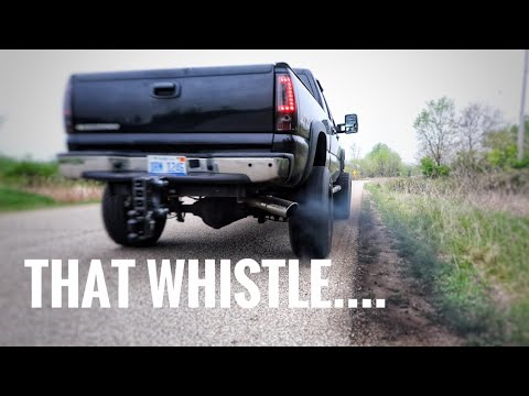 Duramax 4 inch straight pipe Sounds! *You Can't Miss This*
