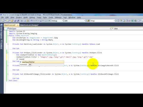 How to Convert Image to Base64 and back to Image in Visual Basic .net 2010