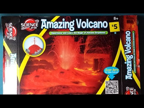 Amazing  Volcano Experiment Kit Review from Dollar General