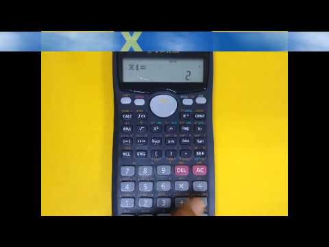 HOW TO SOLVE QUADRATIC AND CUBIC EQUATIONS USING CALCULATOR