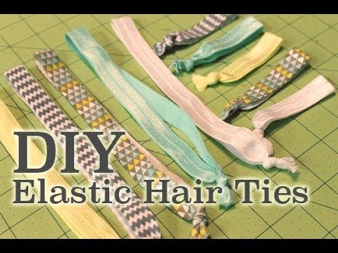 DIY Elastic Hair Ties & Headbands! | ArtsyPaints