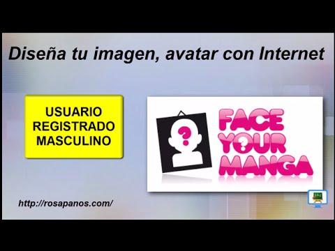 FACEYOURMANGA (2) usuario registrado masculino diseña tu imagen (HD con subtitulos)