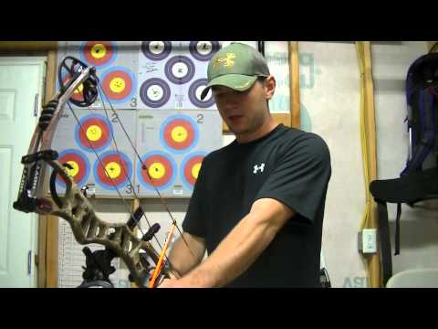 Archery Form Setting your grip