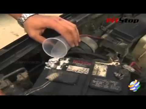 How to Remove Corrosion From a Car Battery
