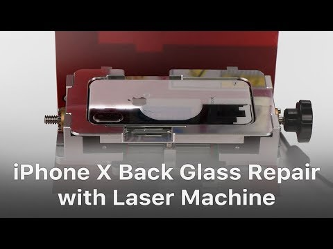 iPhone X/8 Plus/8 Back Glass Separating with Laser Machine?