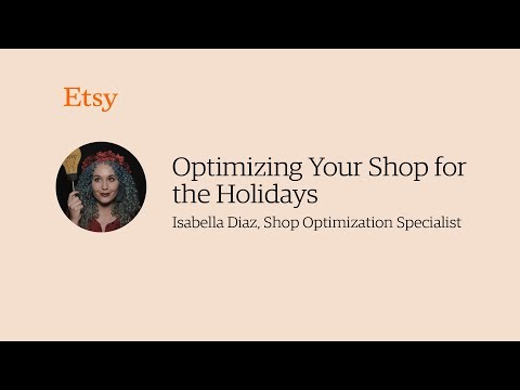 How to Optimize Your Etsy Shop for the Holiday Shopping Season