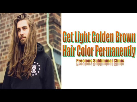 Get Light Golden Brown Hair Color - 3rd Formula [Affirmation+Frequency] - INSTANT RESULTS