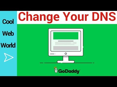 How to change Domain Name Servers( Godaddy Domains 2018)