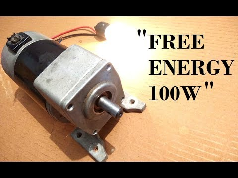 Free Energy Generator that requires no Electricity for field power: 100% Genuine