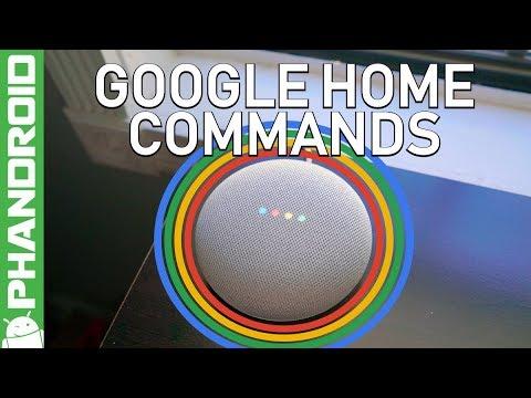 Best Google Home Commands