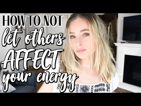HOW TO NOT LET OTHERS NEGATIVE ENERGY AFFECT YOU | Control Your Vibration | Renee Amberg