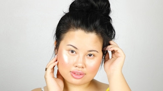 super easy summer glow makeup kim thai