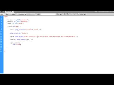 [HD] PHP Tutorial : Creating Login page (MySQL) Part 2