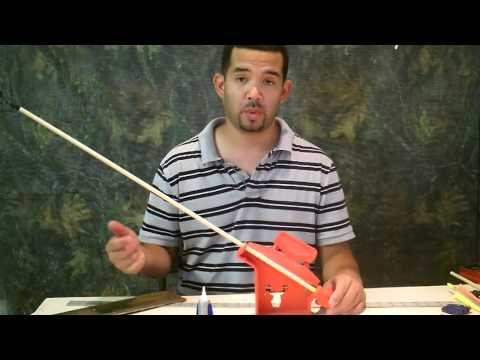 modern wooden archery arrow tutorial