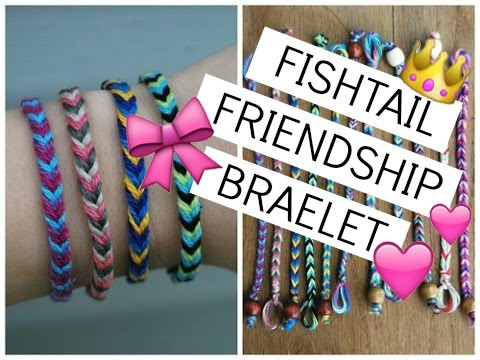 DIY Fishtail Friendship Bracelet | Easy String Bracelets How To
